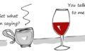 cà phê và rượu vang